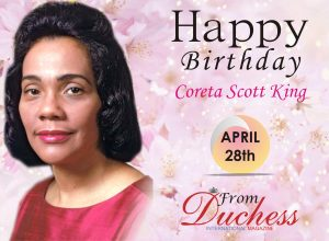 Coreta scott smith Birthday wish