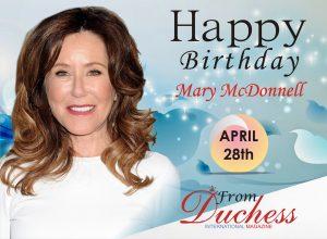 Mary McDonnell birthday