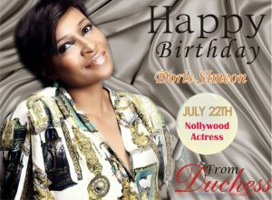 Doris Simeon Birthday wish
