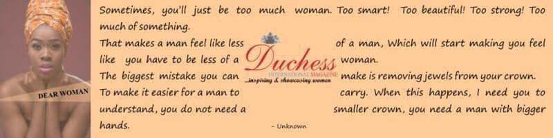 Duchess Poem woman