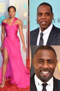 Regina King, Jay Z, Idris Elba in The Harder They Fa