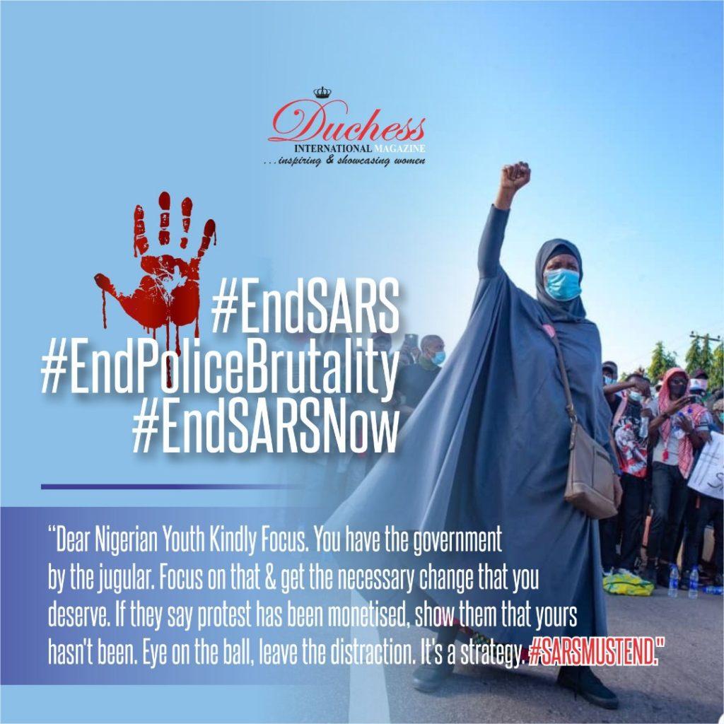 Aisha Yesufu #EndSARS #EndSWAT #BringBackOurGirls #