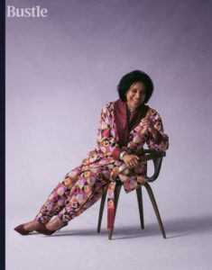 Phylicia Rashad laughing As She Graces Bustle