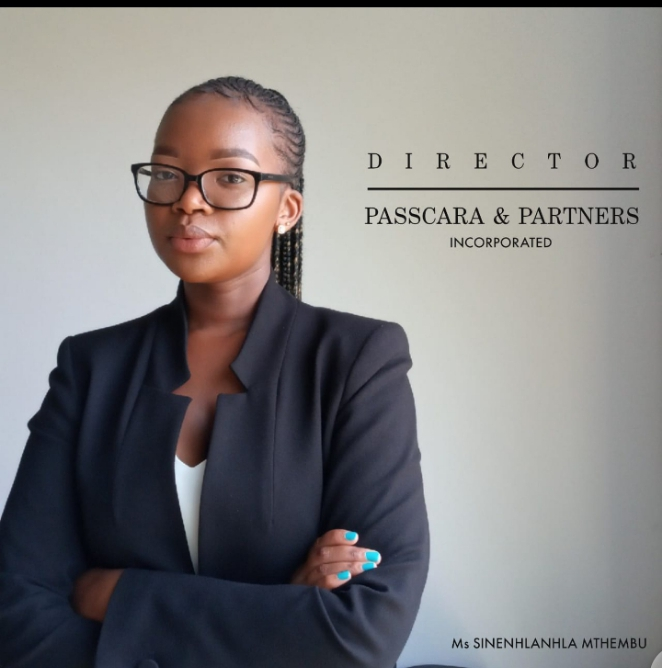 Sne Mthembu: 25 year old lawyer who owns her own law firm