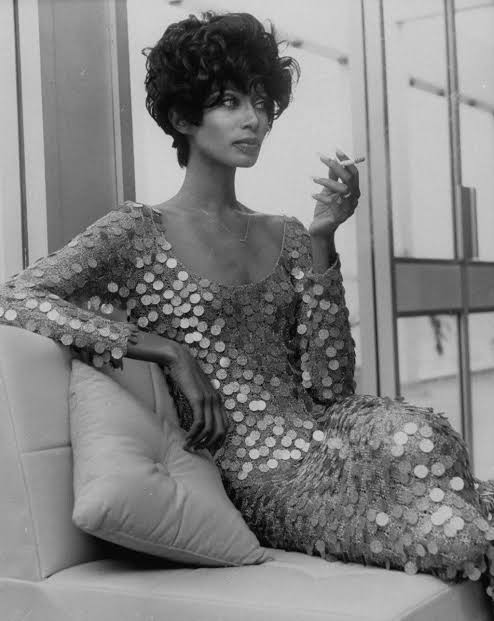 Donyale Luna the first black supermodel