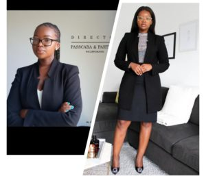 Sne Mthembu 25 year old lawyer who owns her law firm