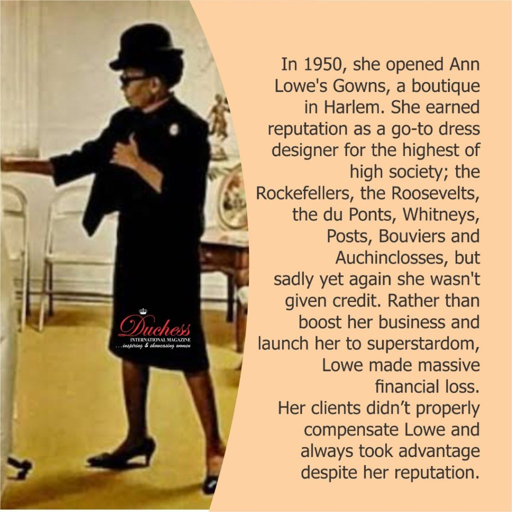 Ann Lowe First Black Noted Fashion Designer