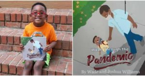 Five Year Old Wade Williams: Author- Wade Through The Pandemic