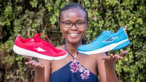 Navalayo Osembo, Founder of Enda, Africa's First Professional Running Shoes Company
