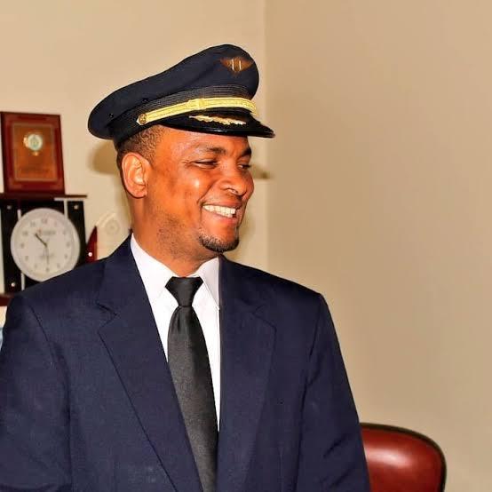 From Aircraft Cleaner to Aircraft Pilot, Meet Mohammed Abubakar