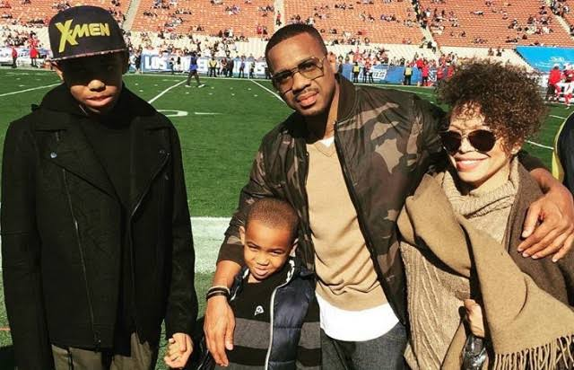 Tisha Campbell, Duane Martin and sons