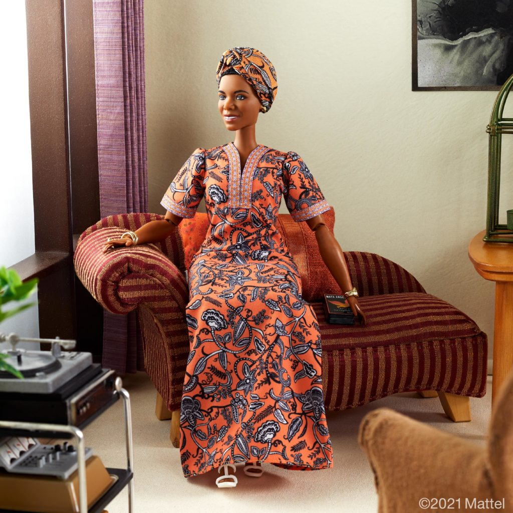 Maya Angelou gets own Barbie