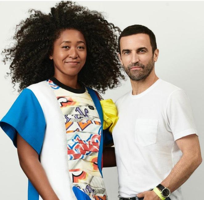 Naomi Osaka Unveiled Louis Vuitton's Newest Brand Ambassador
