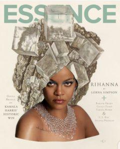 Rihanna X Lorna Simpson for Essence Magazine