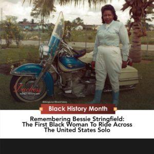 Bessie Steingfield the motorcycle queen