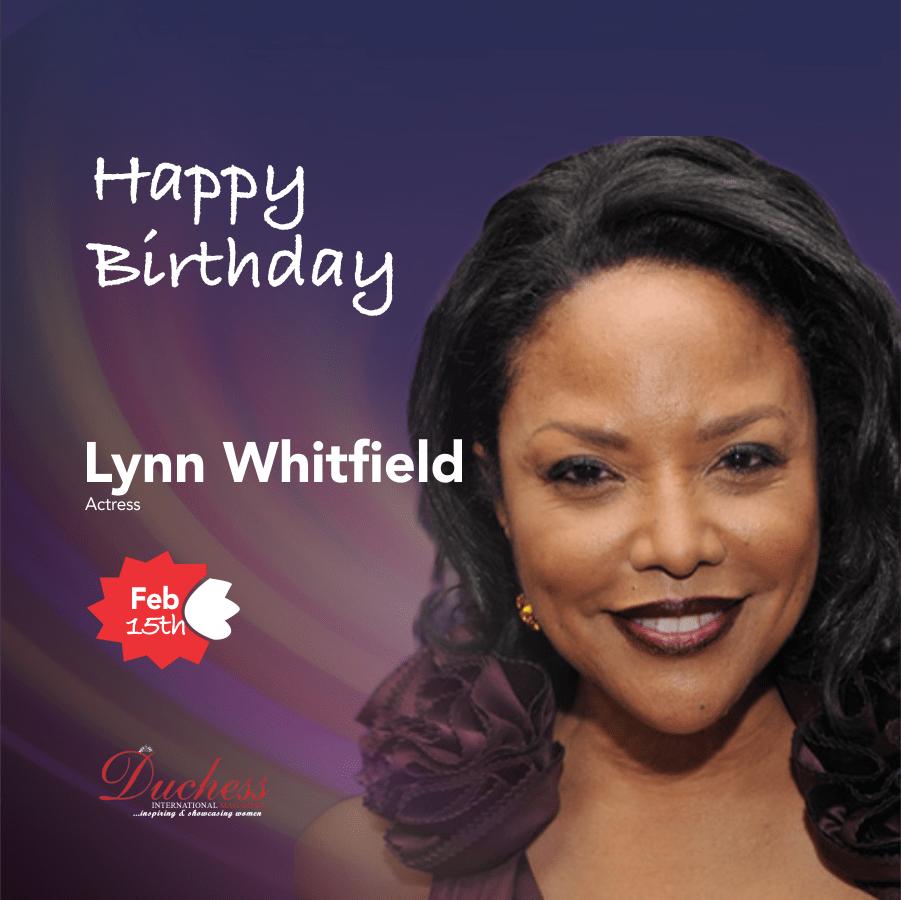 Lynn Whitfield