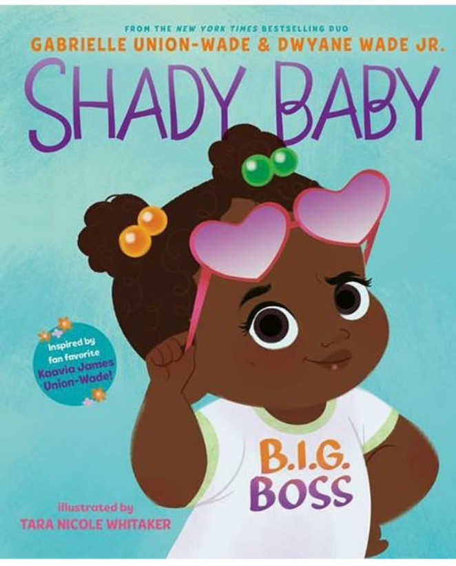Gabrielle Union and Dwyane Wade's Shady Baby book based on Kaavia James