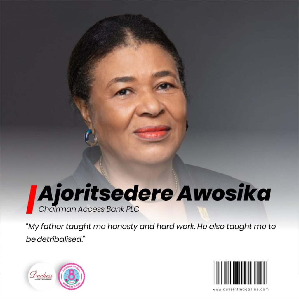 Dr. Ajoritsedere Awosika: Chairwoman of Access Bank plc.