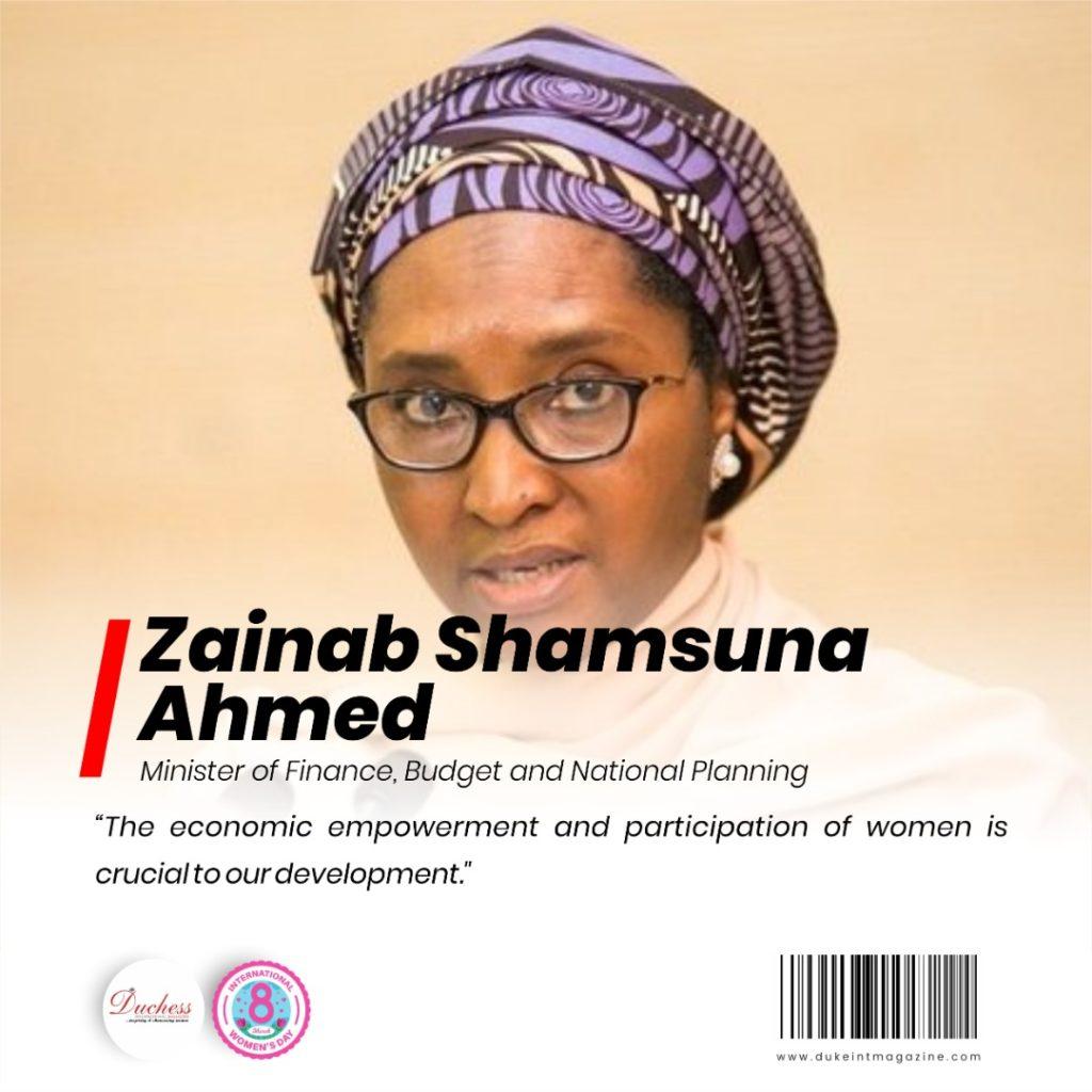 Zainab Ahmed - Nigeria's Minister of Finance