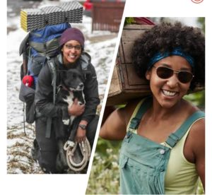 Emily Ford Becomes First Black Woman To Hike Wisconsin's 1,200 Mile Ice Age Trail In Winter Solo