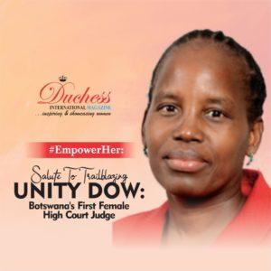 Unity Dow: Botswana's First Female High Court Judge