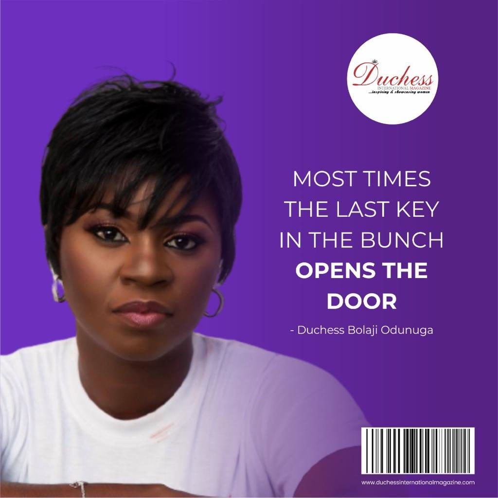Duchess Bolaji Odunuga: Founder and CEO of Duke and Duchess International Magazines