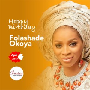 Happy Birthday Chief Sade Okoya