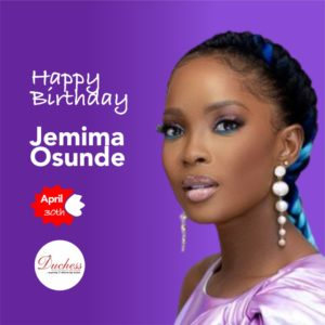 Happy Birthday Jemima Osunde
