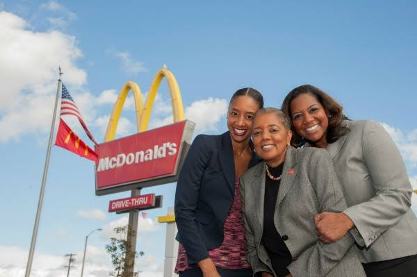 Meet The Mother Daughter Trio Who Own 13 McDonald's Franchises In Compton