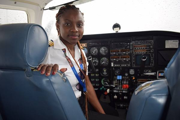 Audrey Maame Esi Swatson Ghana's Youngest Female Pilot