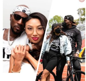 Jeezy and Jeannie Mai donate over 1,000 bicycles to Atlanta's youth