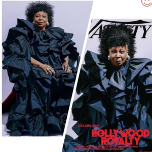 Whoopi Goldberg covers Variety's Hollywood's Royalty issue