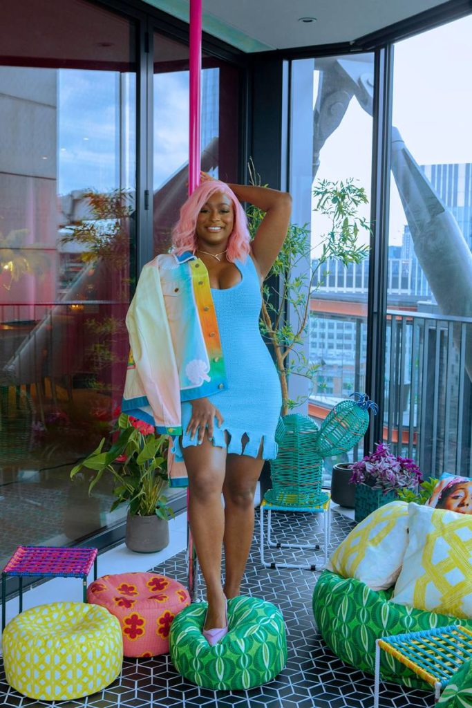 DJ Cuppy for Glamour Uk