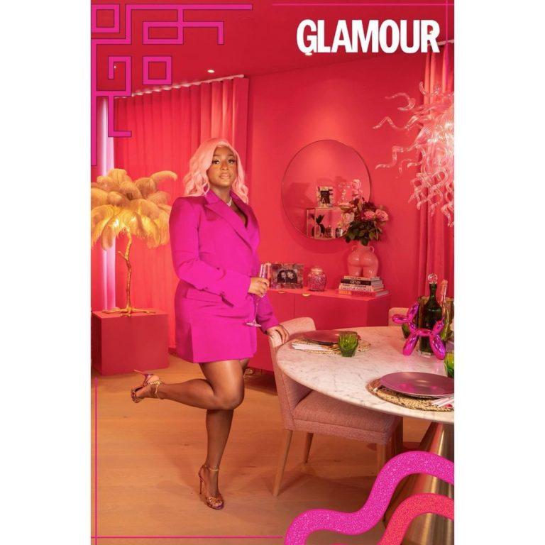 DJ Cuppy Glamour UK