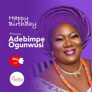 Happy Birthday Princess Adebimpe Ogunwusi