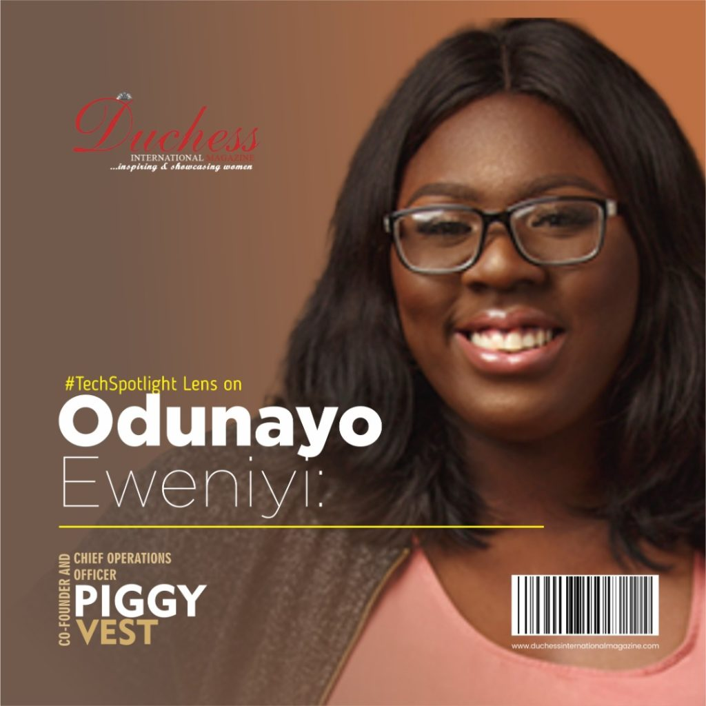 Odunayo Eweniyi: Co-founder and Chief Operations Officer PiggyVest