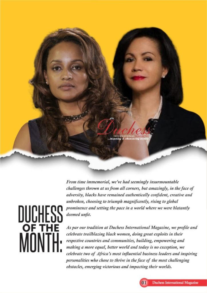 Duchess of the month: Bethlehem Tilahun Alemu and Adenike Ogunlesi