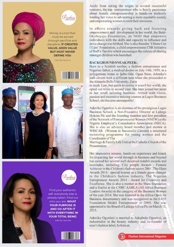 Adenike Ogunlesi - Founder & Chief Responsibility Officer of Ruff 'n' Tumble.