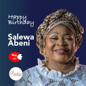 Happy Birthday Salewa Abeni