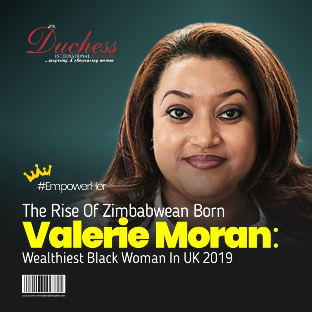 Valerie Moran: Wealthiest Black Woman In UK 2019