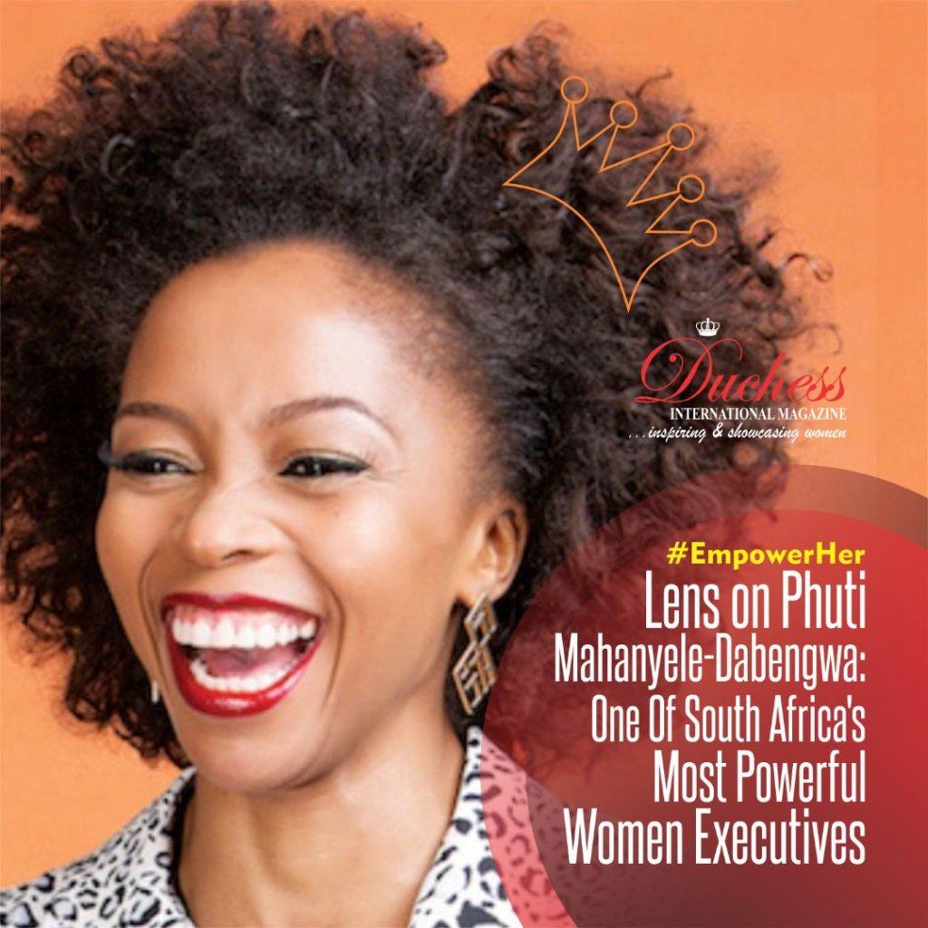 Phuti Mahanyele-Dabengwa Naspers CEO South Africa