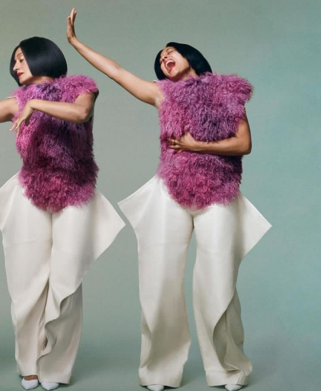 Tracee Ellis Ross for Marie Claire