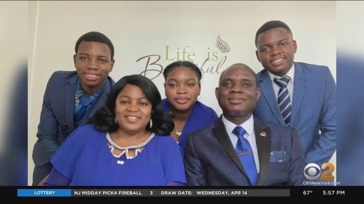 David Odekunle and family
