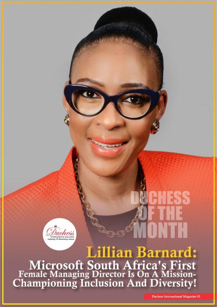 #DuchessOfTheMonth Lillian Barnard: Managing Director, Microsoft South Africa