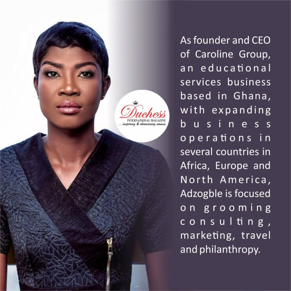 Caroline Esinam Adzogble, 29, The Youngest Woman In Africa To Own An Accredited College