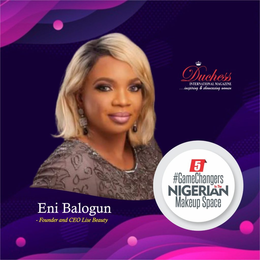 Eni Balogun - Founder and CEO Lise Beauty