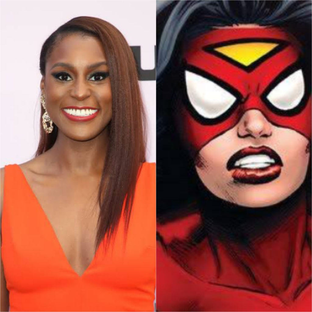 Issa Rae To Play Spider Woman In Sony's Into The Spider-Verse' Sequel