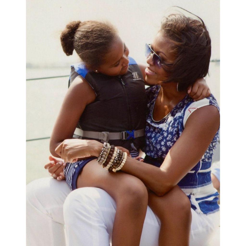 Michelle Obama wishes daughter Sasha a happy birthday