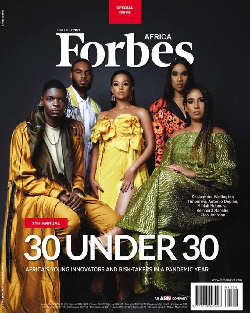 Forbes 30 Under 30 list 2021