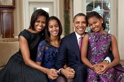 Proud parents Barack and Michelle Obama celebrate Sasha on 20th birthday